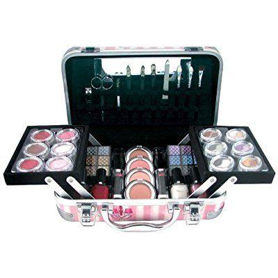 Gloss! - 814/B - Mallette de Maquillage - Fashion Coffret - 64 Pièces - Couleurs aléatoires