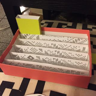 Birchbox upcycle: DIY lipstick holder