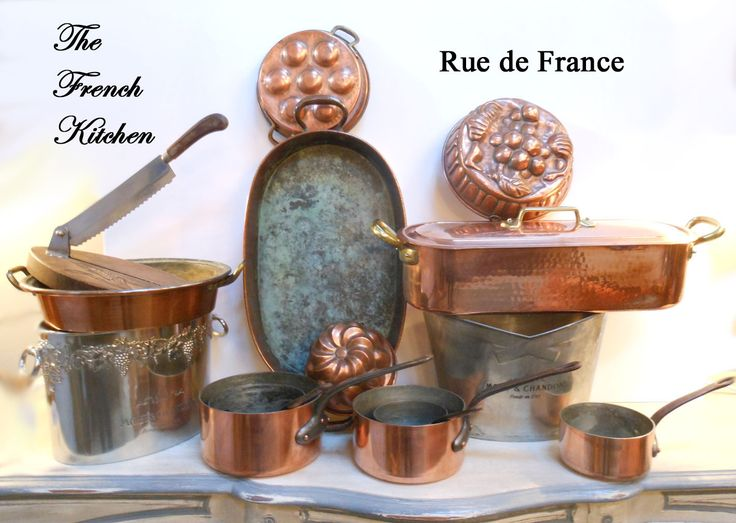The French Kitchen collection Antique French Kitchen items