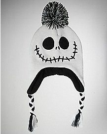 Nightmare Before Christmas Pom Laplander Baby Hat