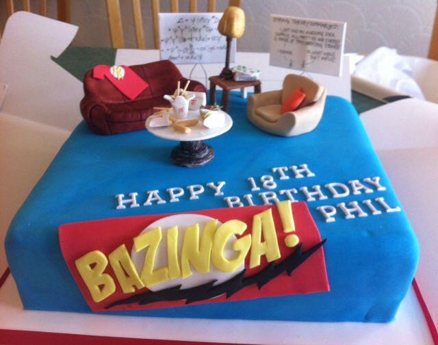 Big bang theory cake ideas