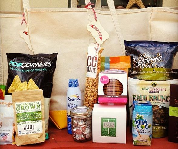 Wedding Gift Bag Goodies : ... Wedding Welcome Bags on Pinterest Hotel welcome bags, Muslin bags