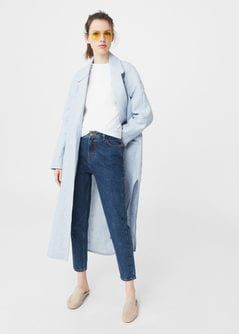 Relaxed Fit Jeans in 7/8-Länge Mom