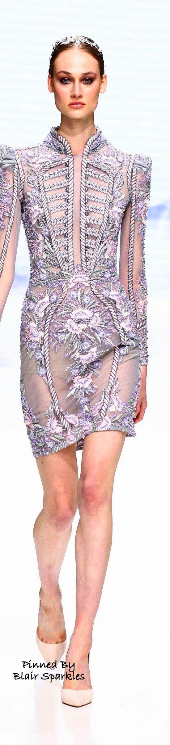 Paris Fall Couture 2016 Micheal Cinco ~ ♕♚εїз   BLAIR SPARKLES  