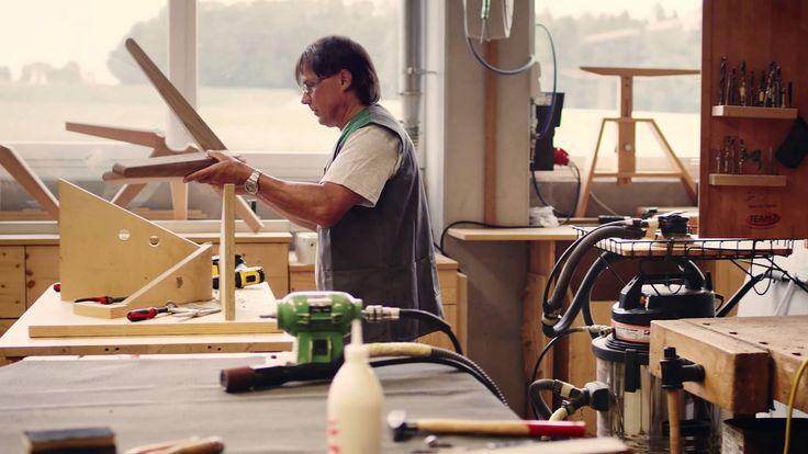 Журнальный стол stern от TEAM 7   Шедевр из дерева и стекла
