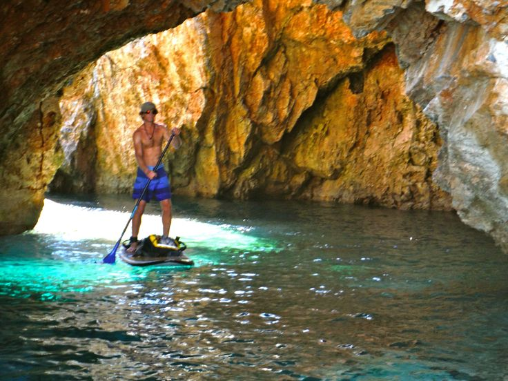 Skopelos island with a coastline worth discovering. #Greece #SUP #Skopelos