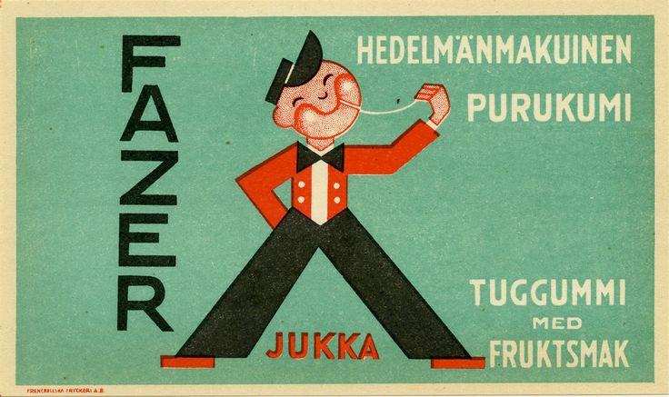 Fazerin Jukka-purkka #Fazer #Jukka #purukumi