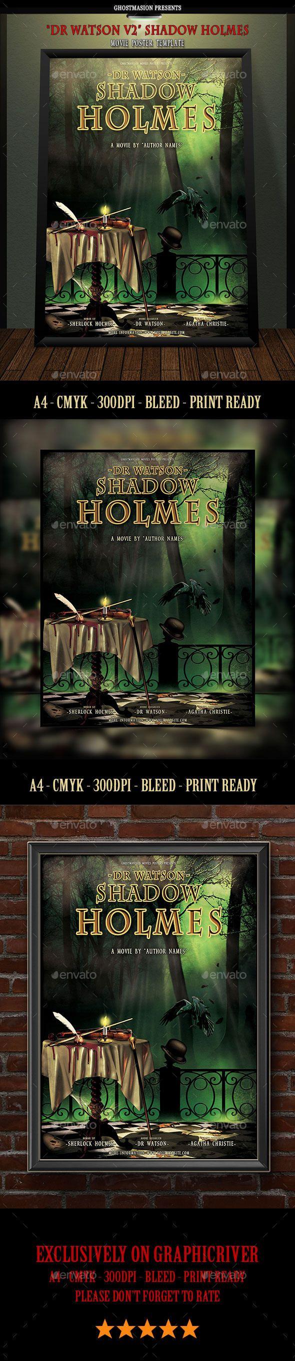48 mejores imágenes de Flyer Template, Book Cover Template, Movie ...