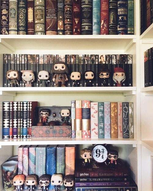 I never take pics of this shelf because the lighting in this room is so bad buuuut here it is anyways!