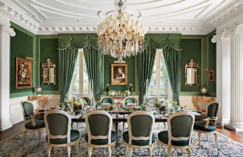 glamorous french interior design