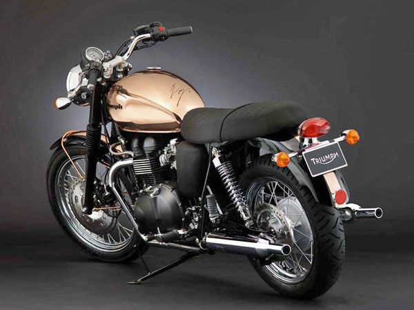 Bonneville 50th Anniversary Edition - Copper