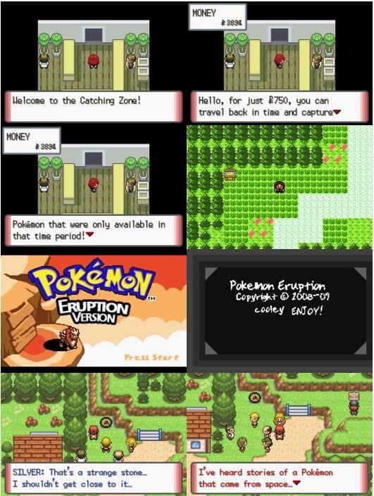 Pokemon Eruption