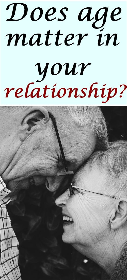 Does age matter in your relationship