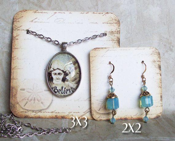 24-arena dólar collar y tarjetas del pendiente por JulryPartZ