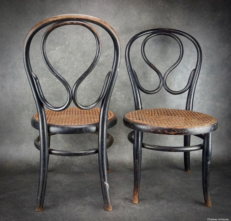 2 x Thonet no. 20 chairs. c1900, Authenticated by Thonet. Nursing or Fireside chairs