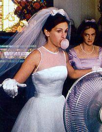 Runaway Bride wedding dress