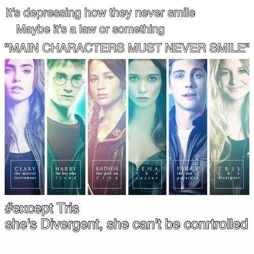 Divergent Character List