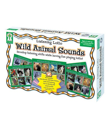 Take a look at this Wild Animal Sounds Game by Carson-Dellosa Publishing Company on #zulily today!