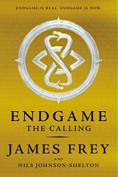 I really wanted to like Endgame by James Frey, but I just couldn't dig it. What did you think? #YAfiction #scifi #contemporary #bookreviews http://eatbooksforbreakfast.com/2014/10/13/endgame-the-calling-by-james-frey-and-nils-johnson-shelton/