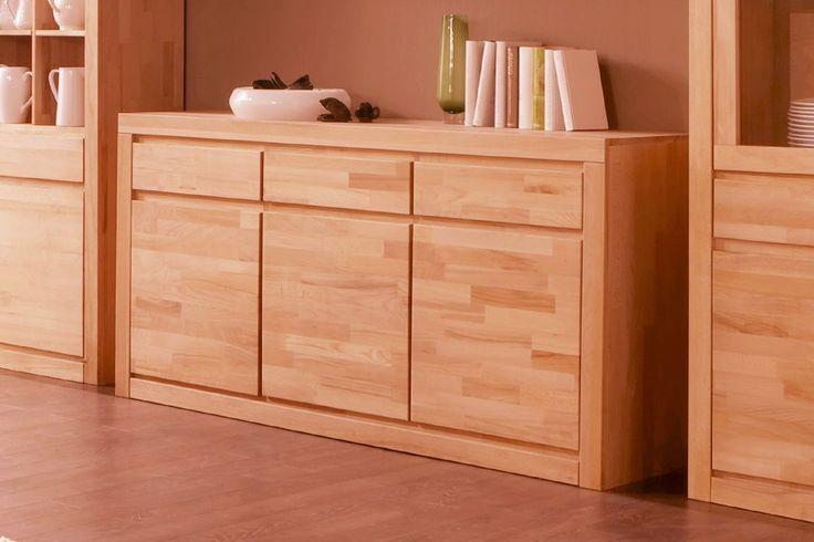 die besten 25 sideboard kernbuche ideen auf pinterest tv m bel eiche massiv. Black Bedroom Furniture Sets. Home Design Ideas
