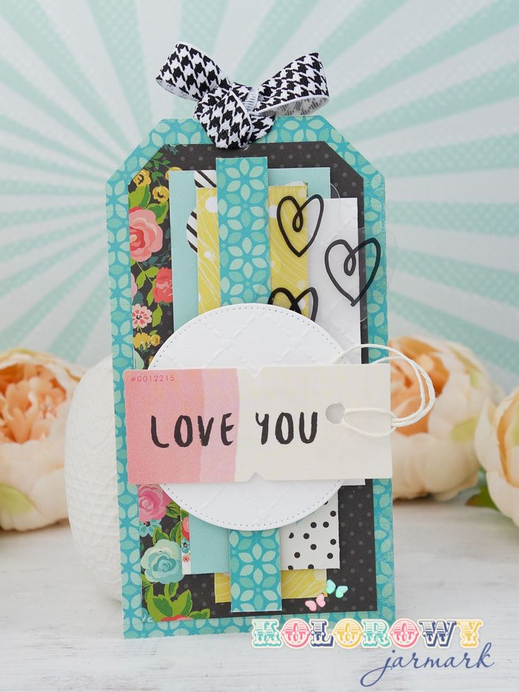 Radosne kartki na Walentynki :) cardmaking, valentine's card, simple stories, Crate Paper