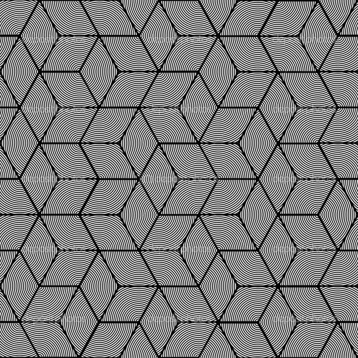 Геометрический узор - бесшовные графический дизайн — стоковая иллюстрация…