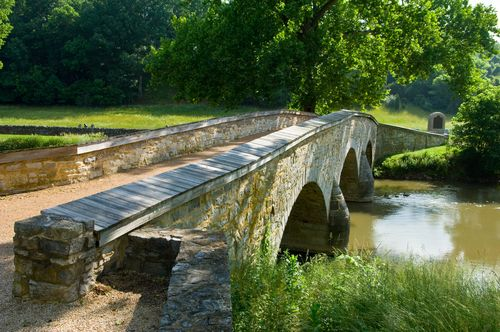 Burnside Bridge at Antietam Battlefield, Sharpsburg, Maryland
