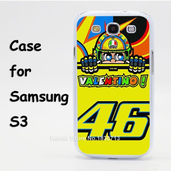 valentino rossi vr46 Design hard transparent clear Skin Cover Case for Samsung Galaxy S3 S4 S5 mini S6 S7 edge
