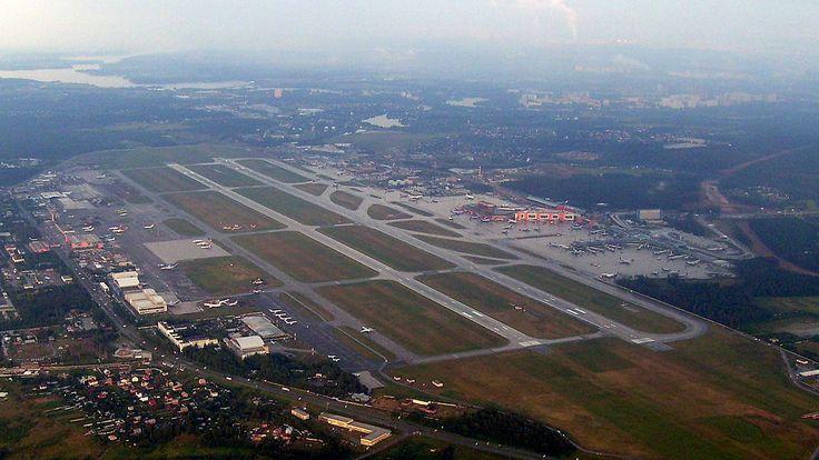 Sheremetyevo International Airport. Moscow