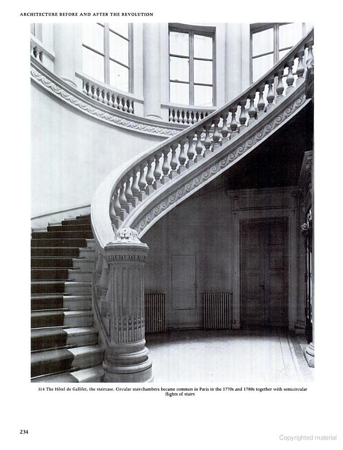Hotel de Gallifet - possible residence of Marquise de Merteuil (interior)