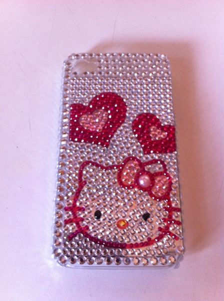 Hello Kitty Bling iPhone 4 CaseIphone 4 Cases Hello Kitty Bling