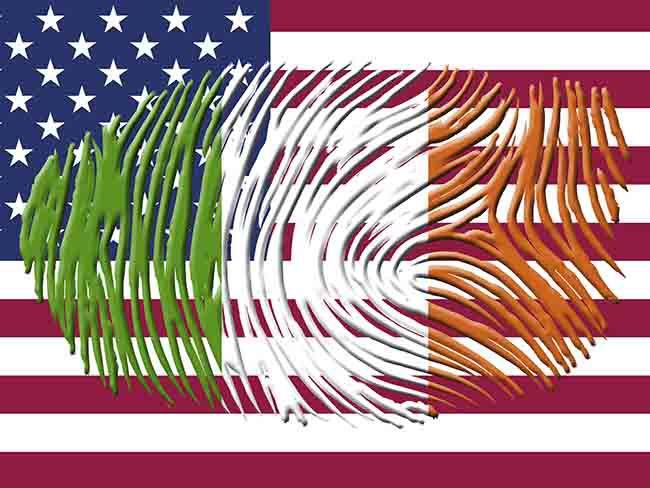 0442cd82f65f Irish-American Flag Irish Fingerprint