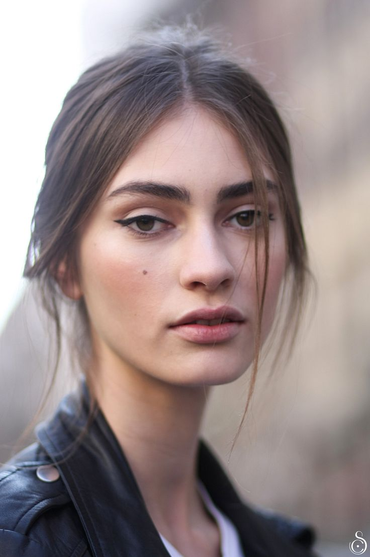 "runwayandbeauty:  "" Marine Deleeuw after Dolce & Gabbana Fall/Winter 2014-15 by Stefano Carloni  """