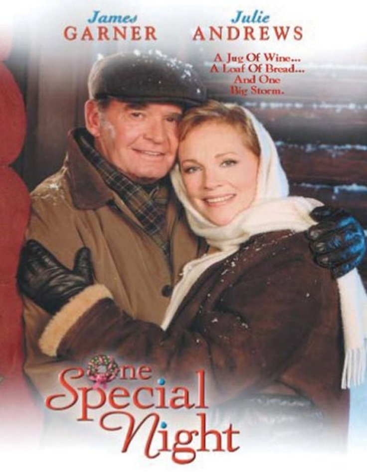 ONE SPECIAL NIGHT ~ TV movie with James Garner & Julie Andrews: James Of Arci, Favorite Christmas, Julie Andrews, July Andrew, Special Night, James Garner, Christmas Movie, Holidays Movie, Favorite Movie