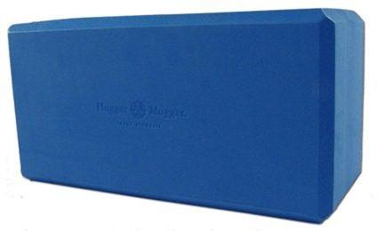"""Hugger Mugger Big Blue Yoga Block, 5"""" Foam"""