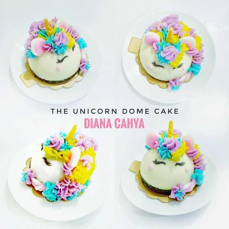 "63 Likes, 1 Comments - Diana Cahya (@din2902) on Instagram: ""Still love it! . . #DianaCahya #DianaCahyaEffect #DomeCake #Unicorn #UnicornDomeCake…"""