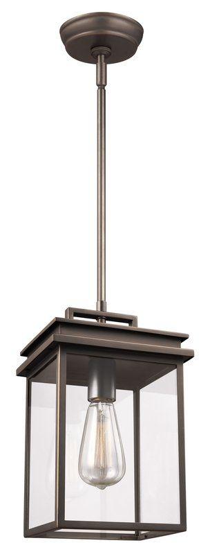 Krupa 1-Light Outdoor Hanging Lantern