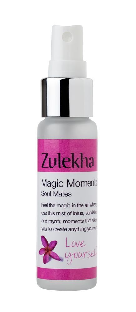 Room Spray Magic Moments 25ml Myrrh Essential Oil Valentine Zulekha Aromatherapy