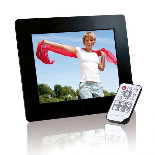 Intenso Photobase Digitaler Bilderrahmen (20,3cm (8 Zoll) Display, SD Kartenslot, Fernbedienung) schwarz - http://kameras-kaufen.de/intenso/intenso-photobase-digitaler-bilderrahmen-20-3cm