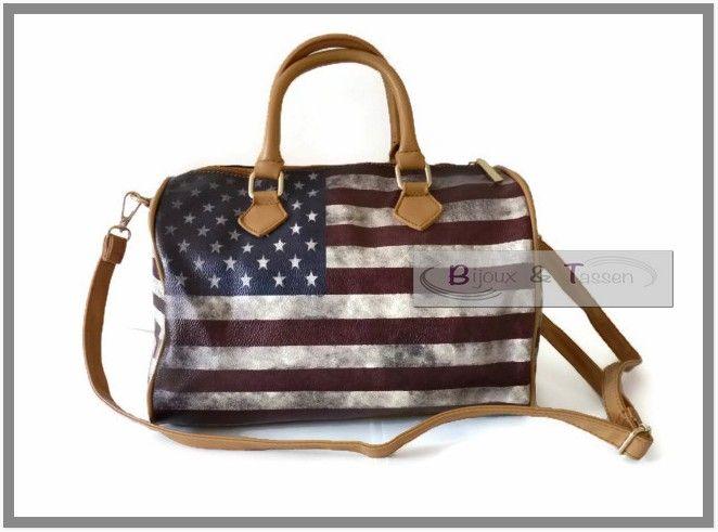 Giuliano tas Amerikaanse vlag Maat M
