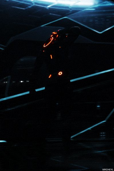 mrcheyl: Rinzler TRON: Legacy [x] not even fair! Why can't I go to a video game world and wear cool clothes and be all ninja like?!?!?