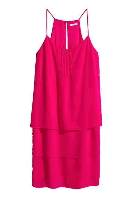 Sukienka z szyfonu, H&M
