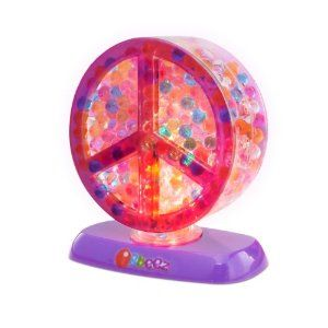 Orbeez Light-Up Peace Sign by Orbeez. $11.99. Add water and watch them grow to 100 times their volume. Orbeez are wet and wacky, soft and squishy, fun and funky, bouncy and beautiful. All the products come with a full-color Activity Booklet, which provides growing and storage instructions, as well as tons of game and display ideas. From the Manufacturer                Orbeez are wet and wacky, soft and squishy, fun and funky, bouncy and beautiful. They start off hard and tiny. A...