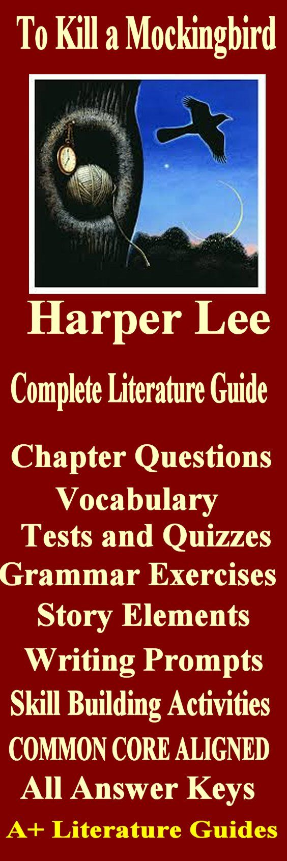 To Kill a Mockingbird: Literary Analysis Elizabeth Capron