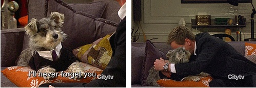 Brover and Barney :( #HIMYM
