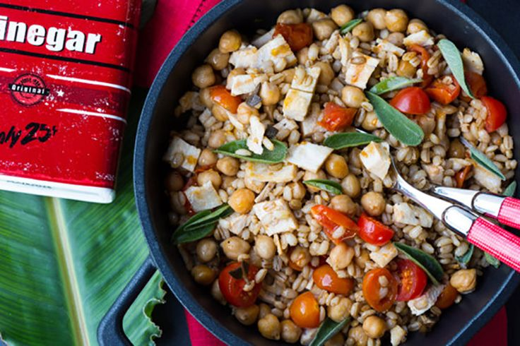 This warm, healthy meal packs a load of nutrients and plenty of simple, rustic flavors.  Take out chicken--add more veggies.