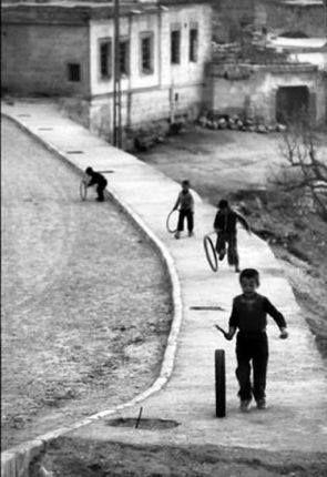 1945 ~ Kids playing in Karpenissi