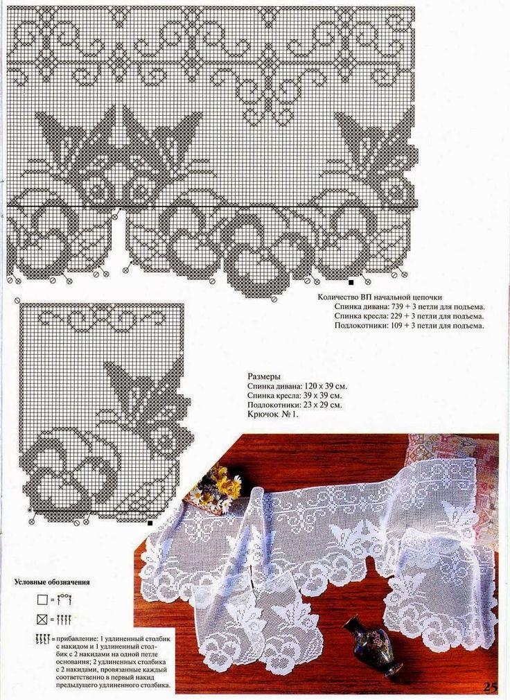 Kira scheme crochet: Scheme crochet no. 213