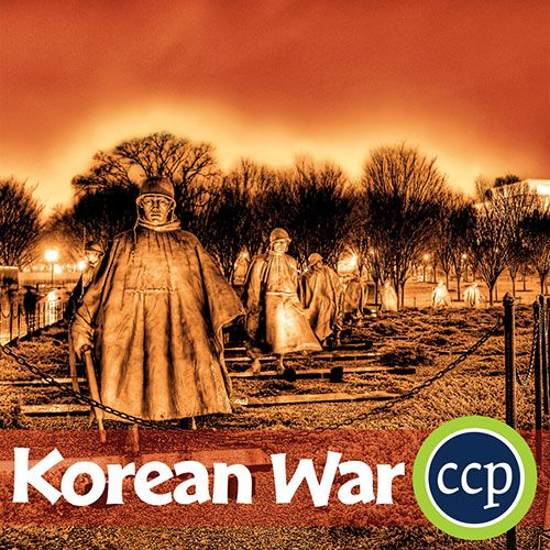 The Korean War was the first real conflict of the Cold War period where a combined United Nations military force made up of mostly American troops intervened when communist North Korean troops backed by the Soviet Union invaded South Korea. Students will learn about the background and causes of the Korean War, major battles like Inchon and Choisin Reservoir, and major figures like Truman, Stalin, MacArthur, and Kim Il-sung.