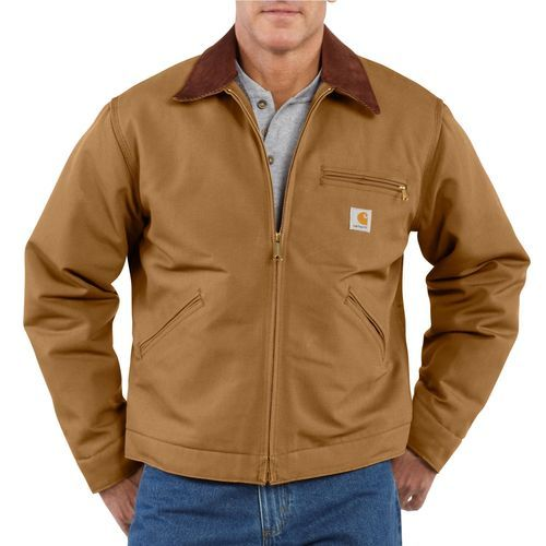 Carhartt Men's Duck Detroit Blanket Lined Jacket